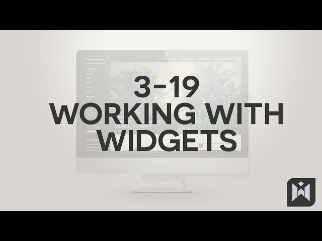 WordPress for Beginners 2015 Tutorial Series | Chapter 3-19: Working with Widgets