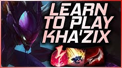 Beginner's Guide to Kha'Zix Jungle | Informative Gameplay Season 10 Walkthrough