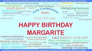 Margarite   Languages Idiomas - Happy Birthday