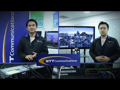 รู้จักกับ Cloud Service จากบริษัท NTT Communications