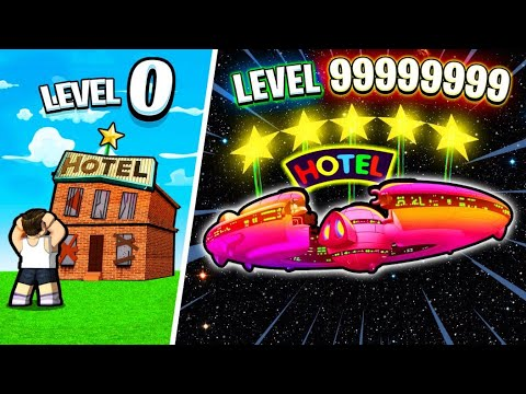 MAKING MAX LEVEL STAR HOTEL IN ROBLOX!