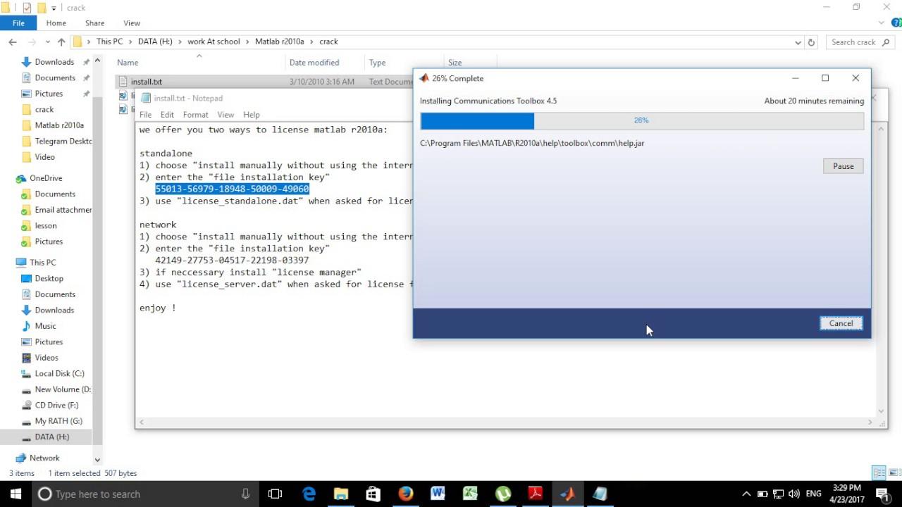 matlab r2018b crack license key