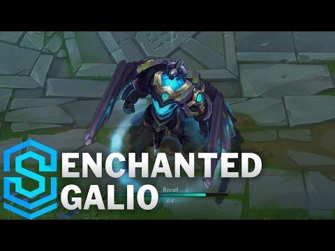 Enchanted Galio (2017 Rework) Skin Spotlight - Pre-Release - League of Legends
