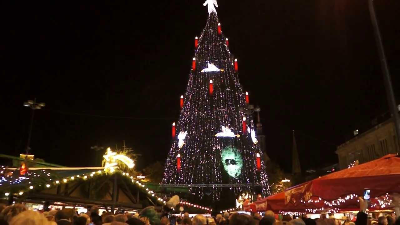 Dortmund Weihnachtsbaum.Dortmund Weihnachtsbaum Grösster Weihnachtsbaum Der Welt