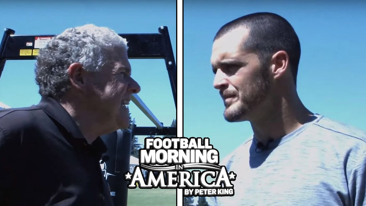 Raiders' Derek Carr opens up about Antonio Brown, moving to Las Vegas (FULL INTERVIEW) | NBC Sports