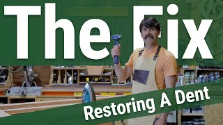 Restoring a Dent - The Fix with Jory Brigham