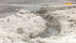 Снежная аномалия в Украине  отменены авиарейсы, 15 см снега и закрытые школы