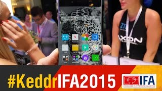 nubia Z9 - безрамочный смартфон от ZTE - IFA 2015 - Keddr.com