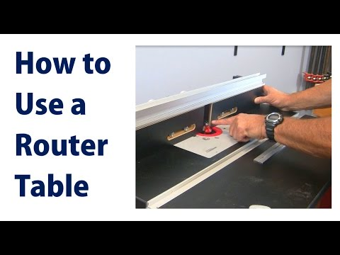 How to Use a Wood Router Table - woodworkweb