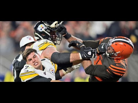 Analysis Of The Steelers Browns Brawl In Cleveland