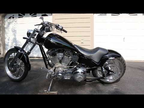 2002 American Iron Horse 107 TEJAS SJ For Sale   Only 1,413 Miles   Runs And Drive Fantastic