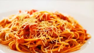 How To Cook The Best Spaghetti In The World!