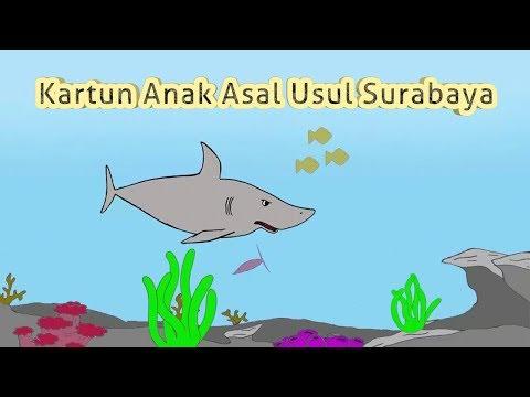 Kartun Anak Ikan Sura Dan Buaya Dongeng Pendidikan Asal Usul Surabaya