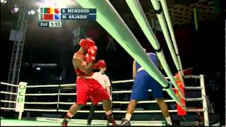 Super Heavy (+91kg) Final - Mendouo (CMR) vs Arjaoui (MAR) - 2012 African Olympic Qualifying Event