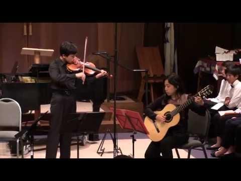 Niccoló Paganini - Sonata No. 6 for Violin and Guitar