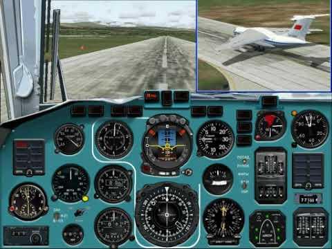 Авиакатастрофа Ил-76ТД 4К-АZ27 в Урумчи (Plane Crash After Take-off).