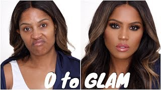 Full Coverage Bronze Ambition Makeup Tutorial | MakeupShayla