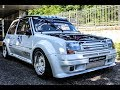 MERRY & RENAULT 5 GT TURBO - ON BOARD SLALOM VINCI - SAN BARONTO 15/10/2017 [HD]