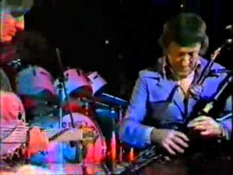 Mike Oldfield con Paddy Moloney