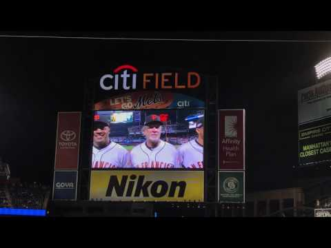 New York Mets 2016 National League Wild Card Lineups/Intros