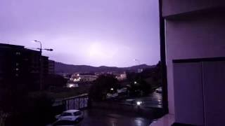 Maltempo,temporale e fulmini Catanzaro