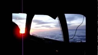 Vuelo completo en CABINA (NT 8452 TFN-ACE) de Binter Canarias, operado por CANAIR