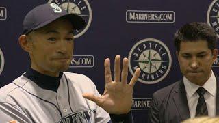 Ichiro Suzuki announces his retirement