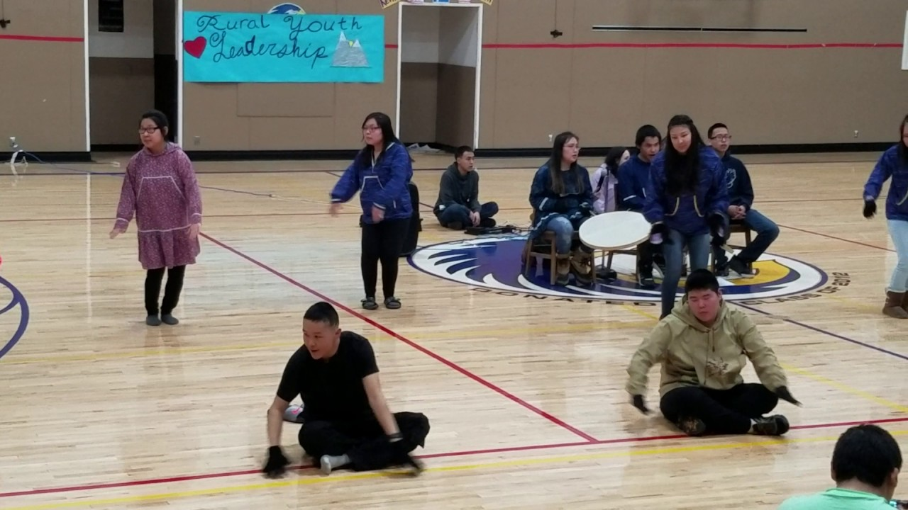 Perfect Rural Youth Leadership Native Dance. Galena Interior Learning Academy.