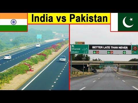 Indian roads vs Pakistani Roads (2018)