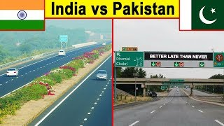 Indian roads vs Pakistani Roads (2018)