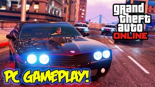 """GTA 5 PC Gameplay"" GTA ONLINE FREE ROAM - GTA V PC Ultra Graphics"