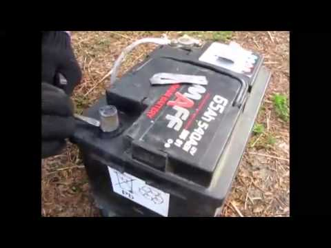 Как восстановить аккумуляторы NiMH и NiCd (АА, ААА) - YouTube