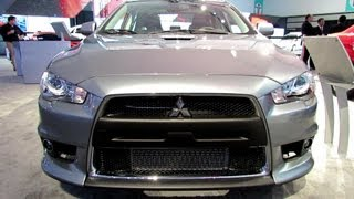 2013 Mitsubishi Lancer Evolution MR - Exterior and Interior Walkaround - 2012 LA Auto Show
