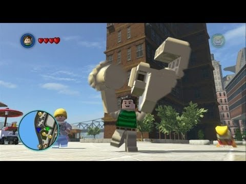 marvel lego unlock sandman