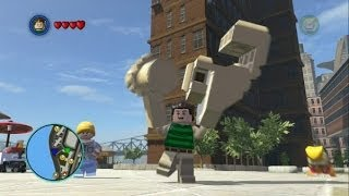 LEGO Marvel Super Heroes - Sandman Free Roam Gameplay