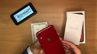 Розпакування iPhone XR Червоний в магазині Фонмарт