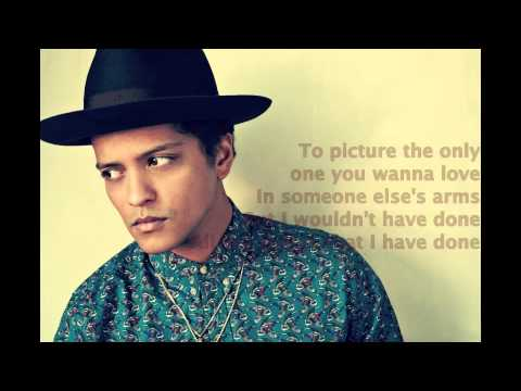 Bruno Mars - If I knew (lyrics)