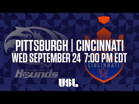 WATCH LIVE: Pittsburgh Riverhounds vs FC Cincinnati 9-24-16