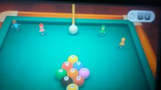 Wii Party U- Luigi wins by doing absolutely nothing in Pool Party