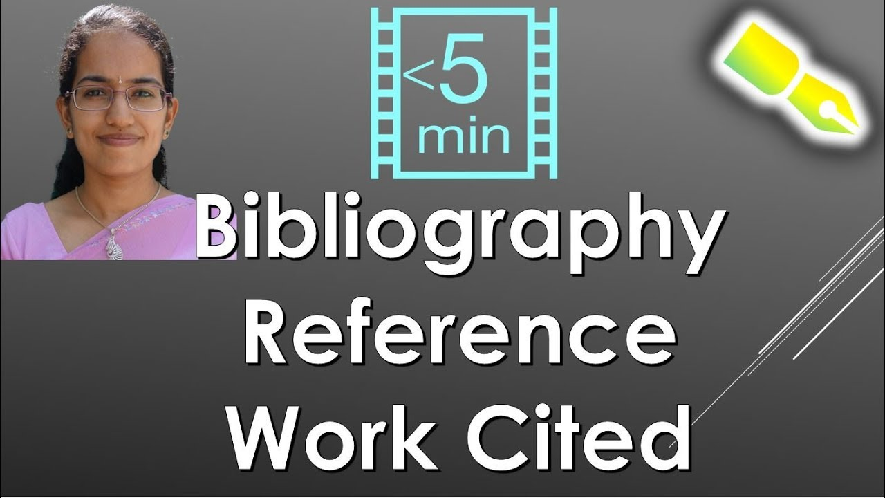 importance of bibliography in report writing