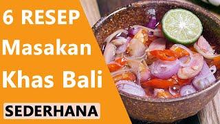 6 Masakan Khas Bali Sederhana yang Rasanya Super Enak dan Lezat Pepes ayam ala Bali dengan citarasa khas dari berbagai bumbu nikmat yang gurih!