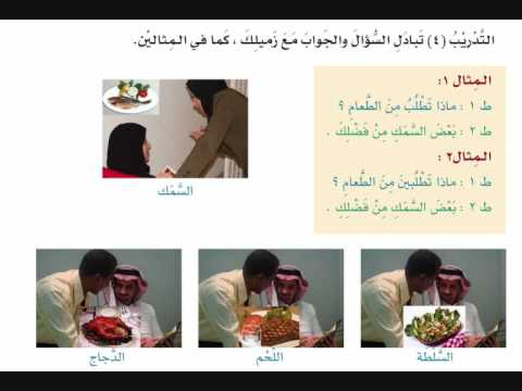 Arabic course - Book 3 :Page 124 - At Your Hands