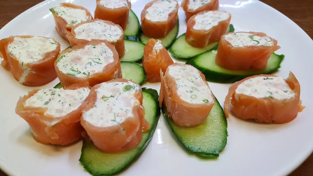 How to Make Keto Smoked Salmon Roll Recipe with SHRIMPS. Ketogenic Recipe  for party LCHF