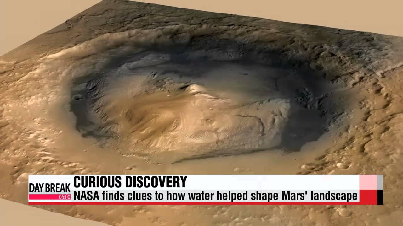 NASA finds clues to how water helped shape Mars′ landscape ...