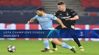 UEFA Champions League | Round of 16 | Borussia Mönchengladbach v Manchester City | Highlights