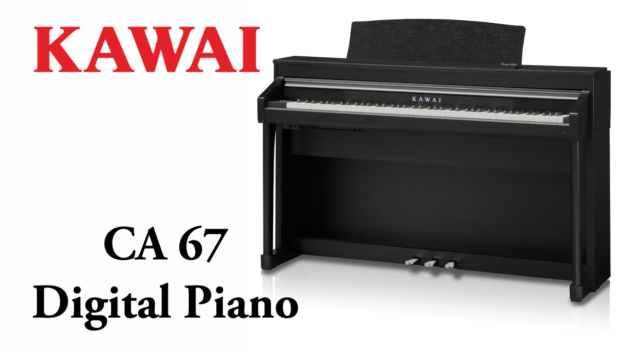 kawai ca67 digital piano demo english doovi. Black Bedroom Furniture Sets. Home Design Ideas