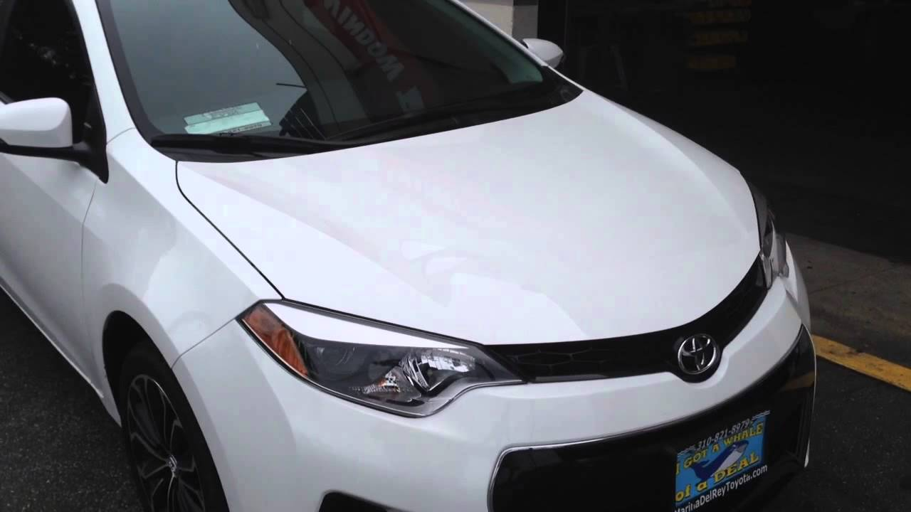 2014 Toyota Corolla Window Tint And Overview Los Angeles