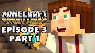 Minecraft: Story Mode - Episode 3: The Last Place You Look - Gameplay Walkthrough Part 1 (PC)