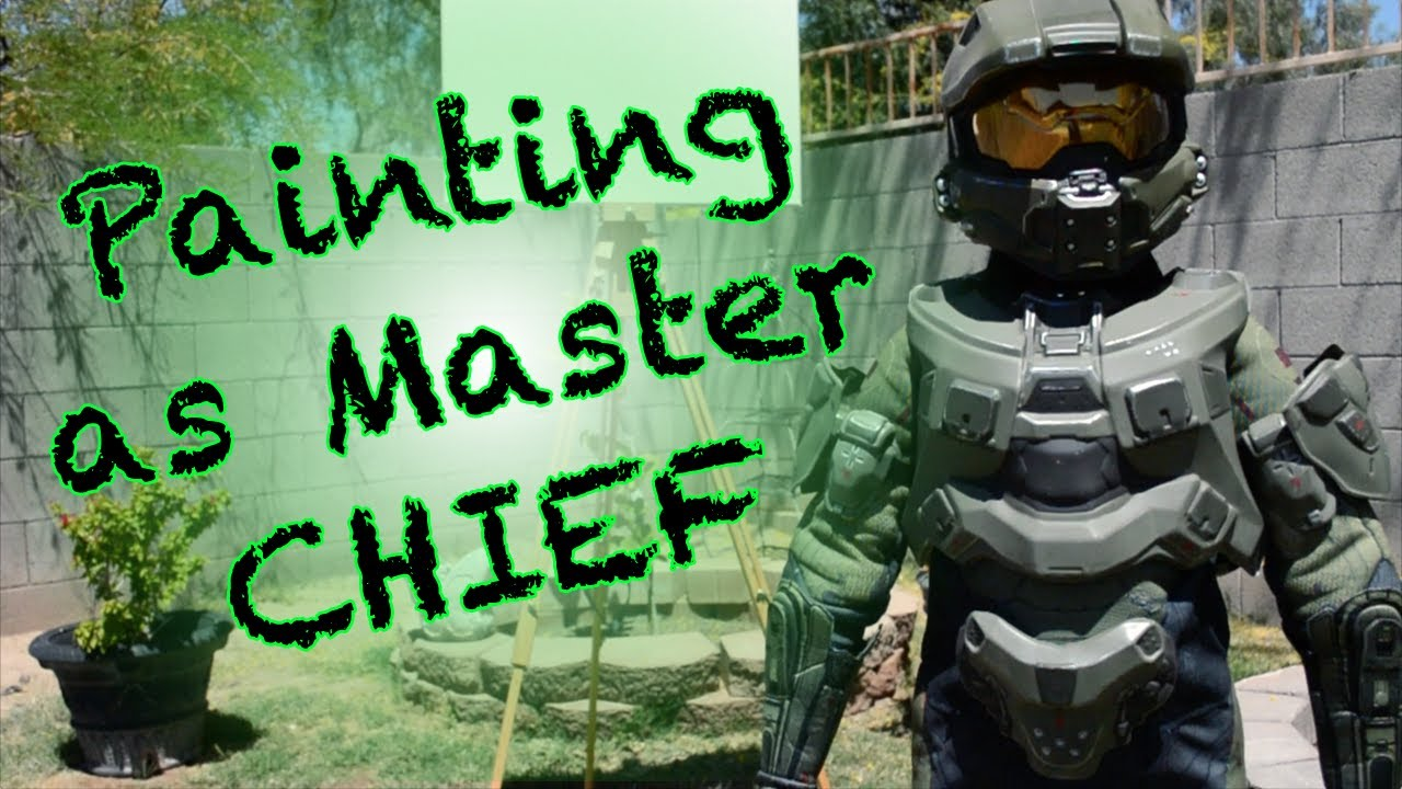 Download Liam Brody Paints With Nerf Rival as Master Chief