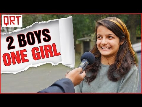 Thumbnail: Delhi Girls on Love Triangle | Relationship Advice by Indian Girls | Quick Reaction Team